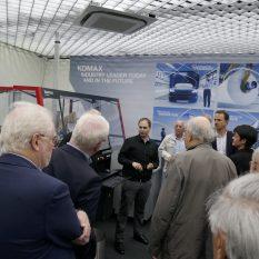Verein Freunde der Academia   Besichtigung der Firma Komax
