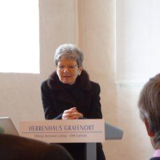 Verein Freunde der Academia | Neuausrichtung der Academia Engelberg | 16. November 2017 | Verena Briner